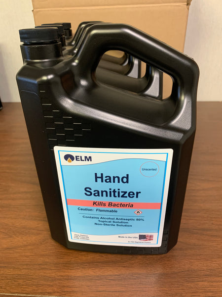 FOUR 1-Gallon Liquid Hand Santizer for Refill: Based on FDA Guidelines