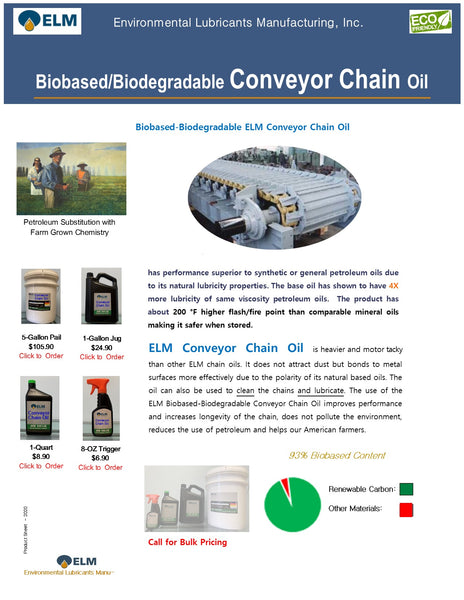 Conveyor Chain Oil