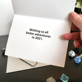 Absolute Crit New Years Card - Box of  20 - Loosetooth.com