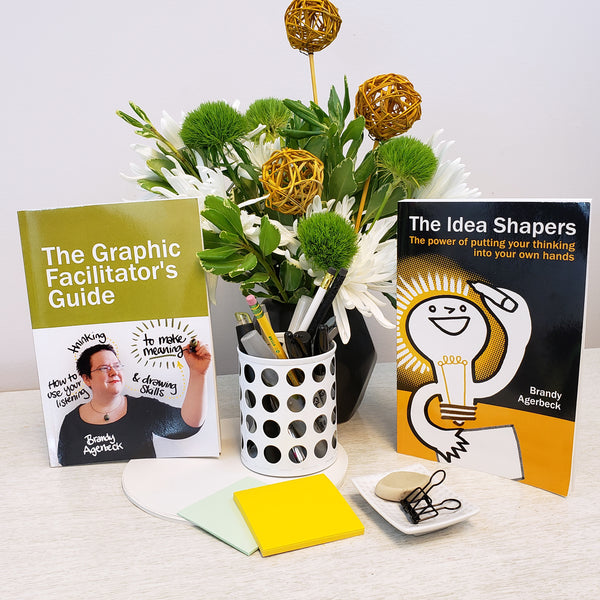 Book Bundle - The Idea Shapers + Graphic Facilitator's Guide - Loosetooth.com