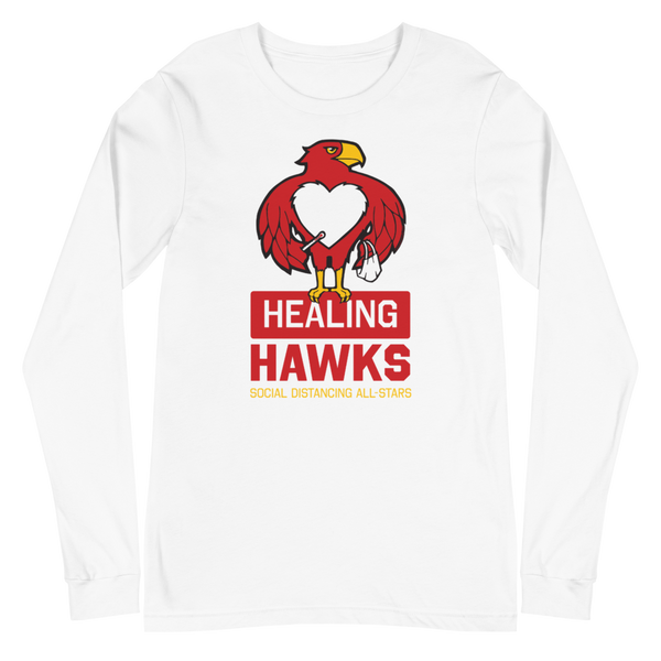 Healing Hawks | Unisex Long Sleeve Tee - Loosetooth.com