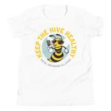 Keep the Hive Healthy Bee | Youth T-Shirt - Loosetooth.com