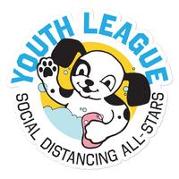 Youth League Puppy Stickers - Loosetooth.com