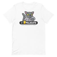 Work from Home Mildcats | Light Colors Unisex T-Shirt - Loosetooth.com