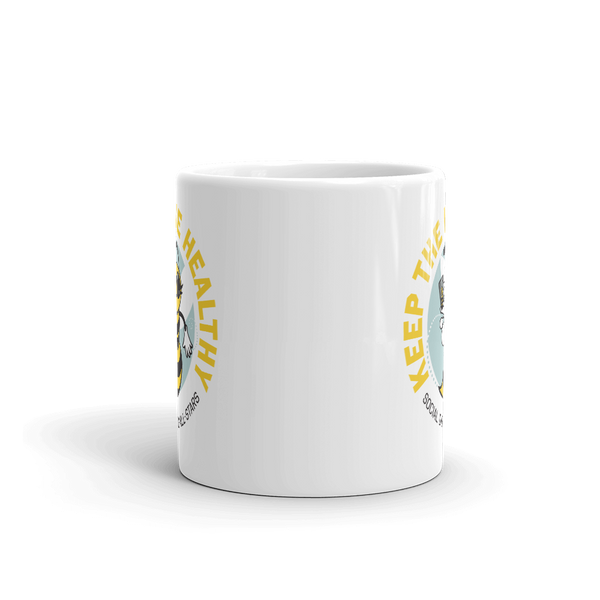 Keep the Hive Healthy Bee 11 oz. Mug - Loosetooth.com
