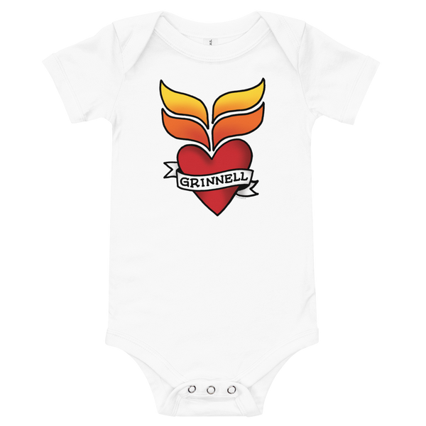 Grinnell Tattoo Onesie - Loosetooth.com
