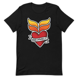 Grinnell Tattoo | Dark Colors Unisex T-Shirt - Loosetooth.com