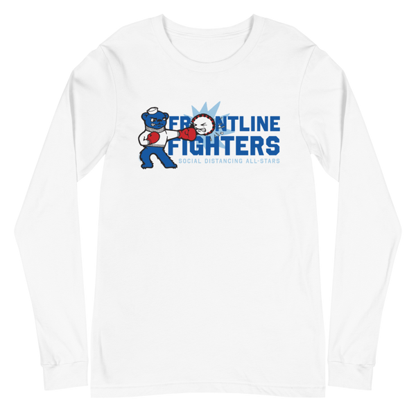 Frontline Fighters Bear | Unisex Long Sleeve Tee - Loosetooth.com