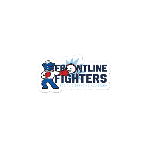 Frontline Fighters Bear Stickers - Loosetooth.com