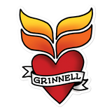Grinnell Tattoo Stickers - Loosetooth.com