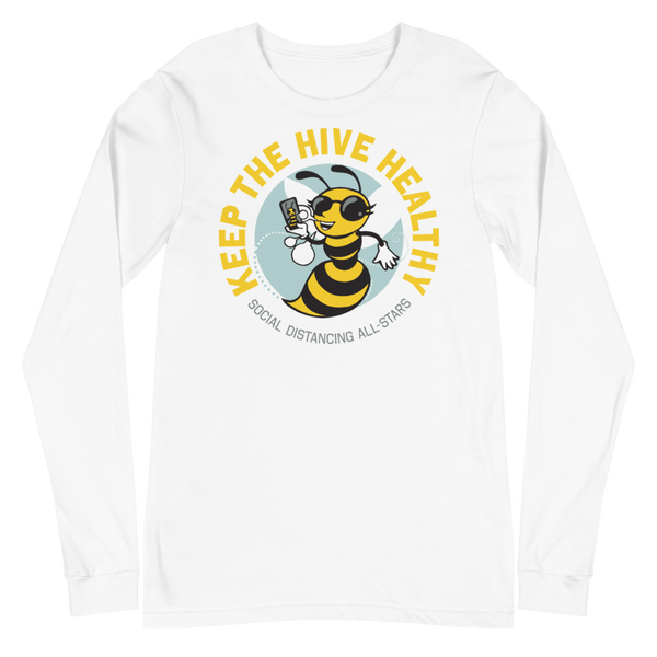 Keep the Hive Healthy | Unisex Long Sleeve Tee - Loosetooth.com
