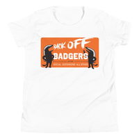 Back Off Badgers | Youth T-Shirt - Loosetooth.com