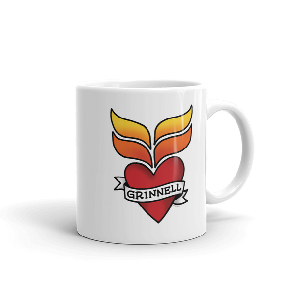 Grinnell Tattoo Mug - Loosetooth.com