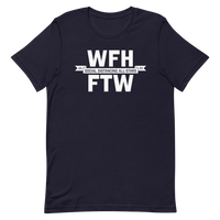 Work from Home FTW | Bright and Dark Colors Unisex T-Shirt - Loosetooth.com