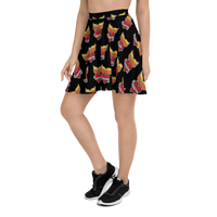Grinnell Tattoo | Skater Skirt - Loosetooth.com