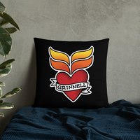 Grinnell Tattoo Pillow - Loosetooth.com