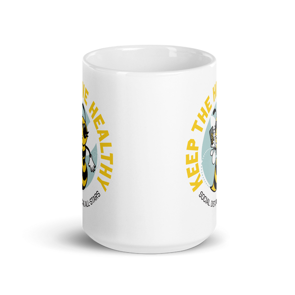 Keep the Hive Healthy Bee 15 oz. Mug - Loosetooth.com