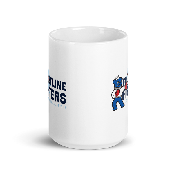 Frontline Fighters Bear 15 oz. Mug - Loosetooth.com