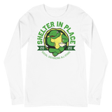 Shelter In Place Turtle | Unisex Long Sleeve Tee - Loosetooth.com