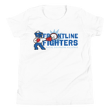Frontline Fighters Bear | Youth Short Sleeve T-Shirt - Loosetooth.com