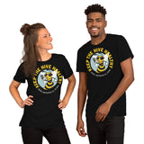 Keep the Hive Healthy Bee | Dark Colors Unisex T-Shirt - Loosetooth.com