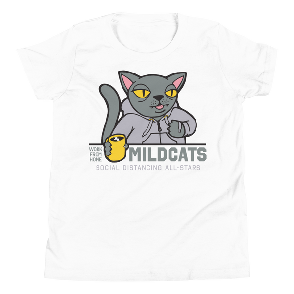 Work from Home Mildcats | Youth T-Shirt - Loosetooth.com
