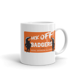 Back Off Badgers 11oz. Mug - Loosetooth.com