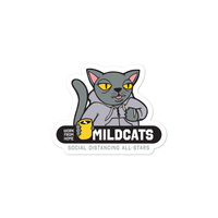 Work from Home Mildcats Stickers - Loosetooth.com