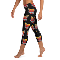 Grinnell Tattoo | Capri Leggings - Loosetooth.com