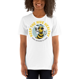 Keep the Hive Healthy Bee | Light Colors Unisex T-Shirt - Loosetooth.com