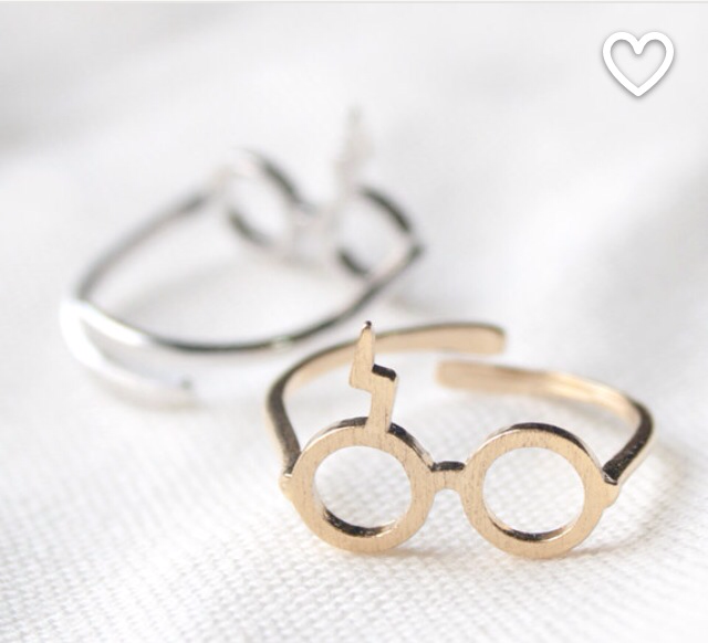 Harry Potter Glasses Ring