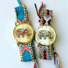 Elephant Dial Thread Watch-new colors
