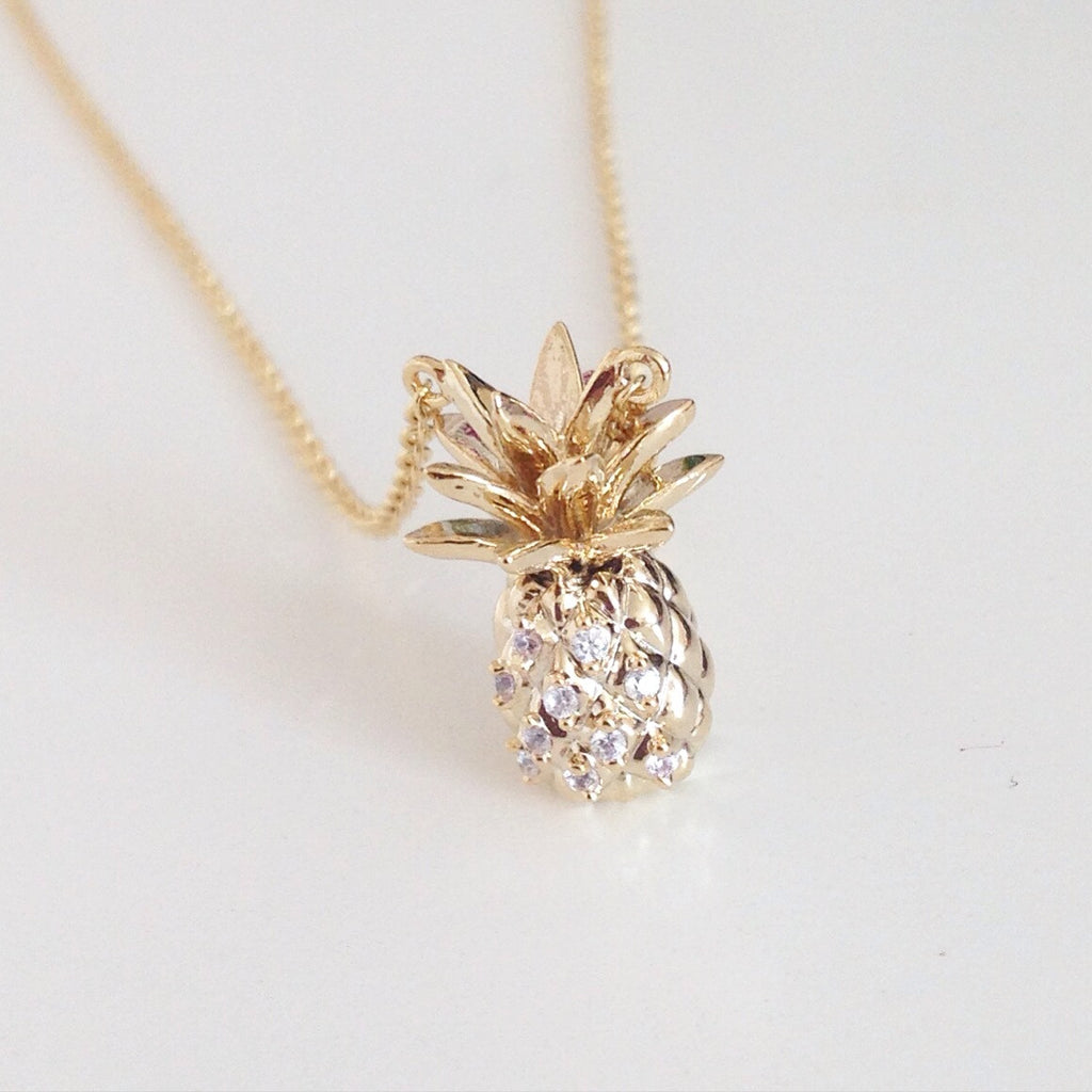 Adorable Pineapple Necklace