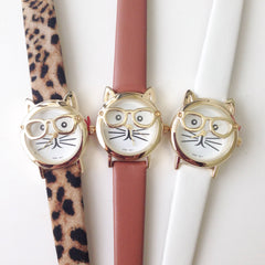Unique Kitty Watch