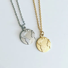 Beautiful Tiny Earth Necklace