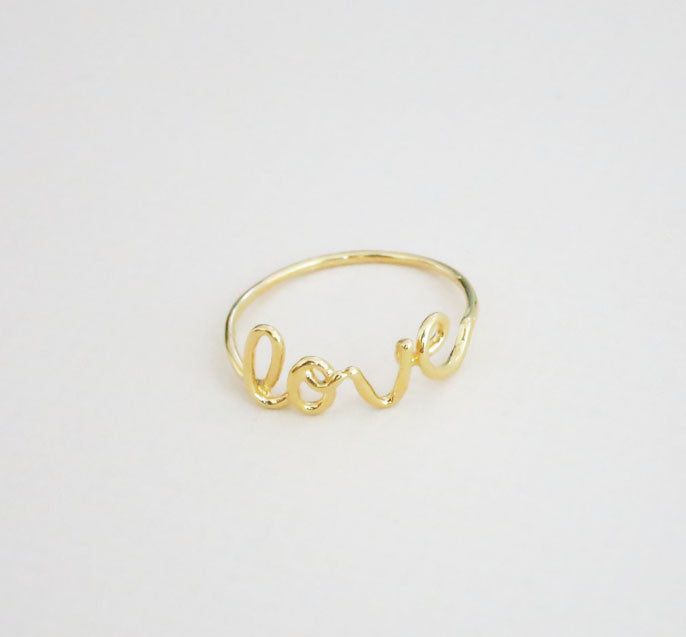 Love Wire Ring