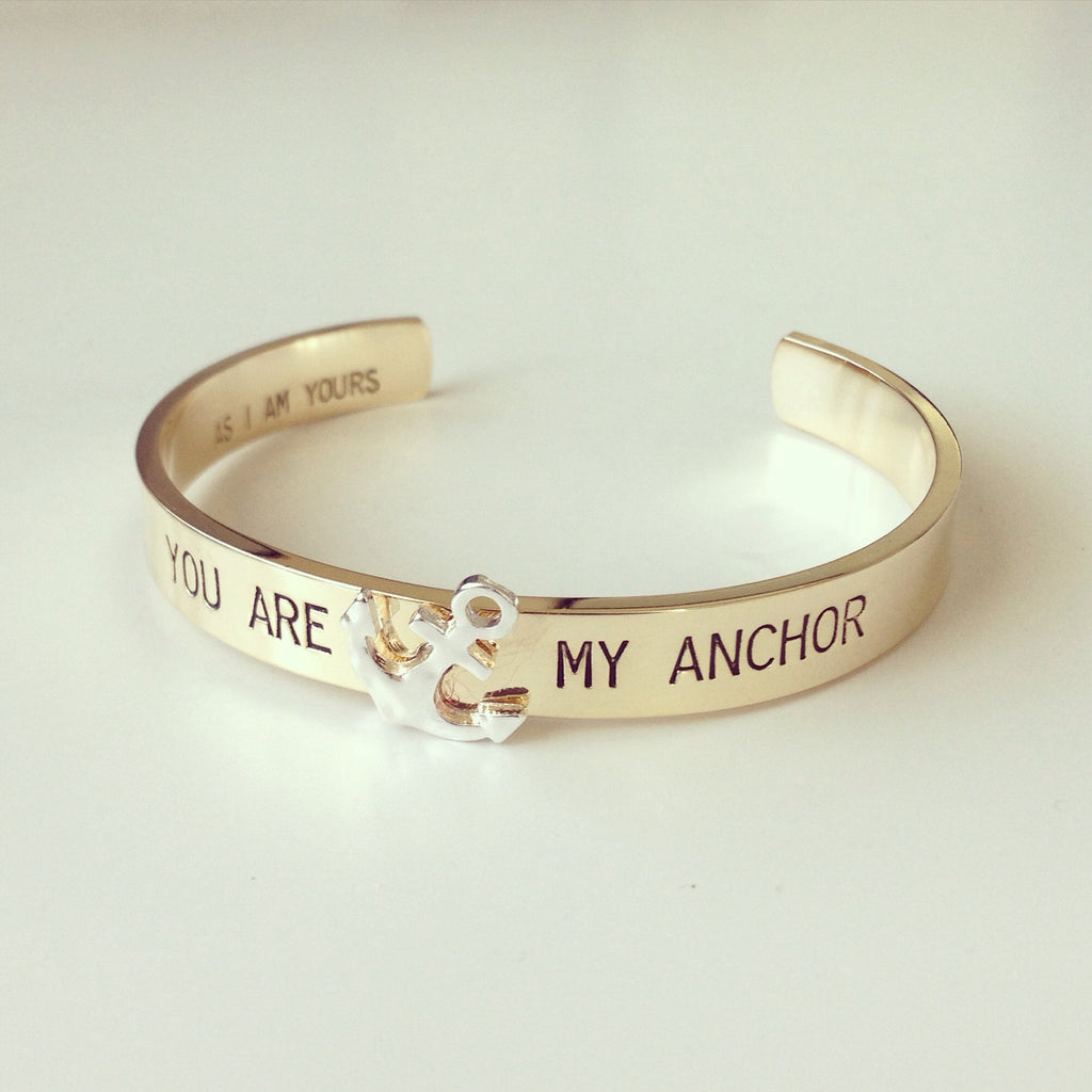 You Are My Anchor Bracelet