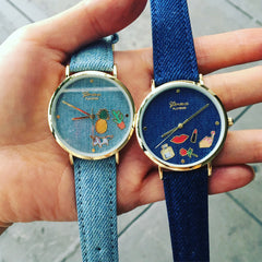Adorable Denim Watch