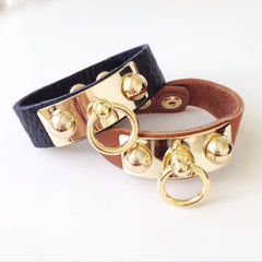 Chic Leather Bracelet