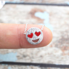 Smile Face Necklace
