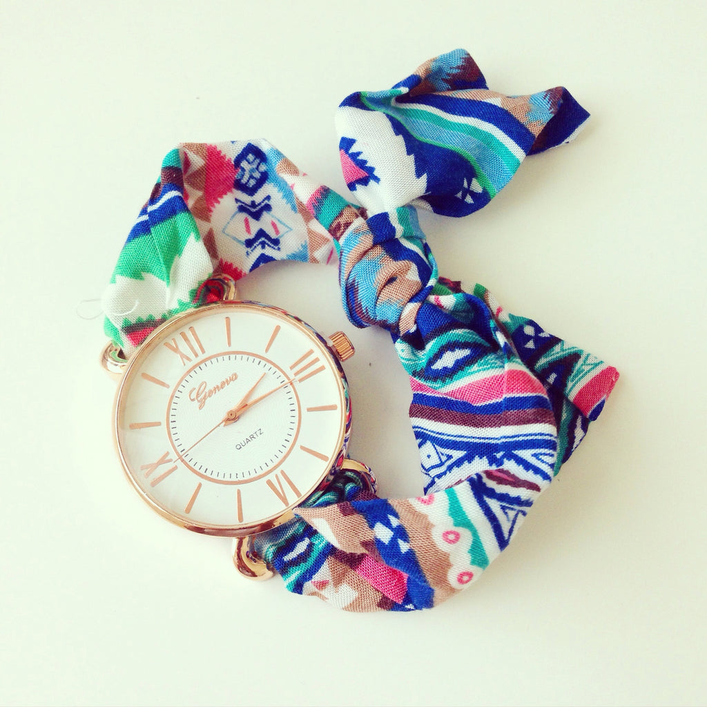 Aztec Scarf Watch