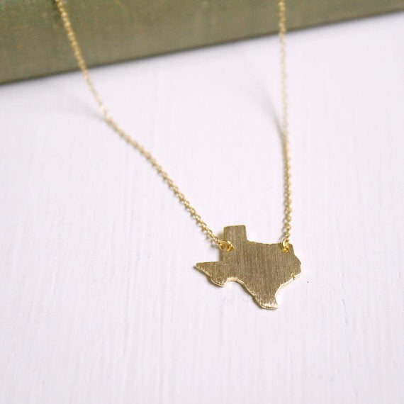 Taxas State Necklace