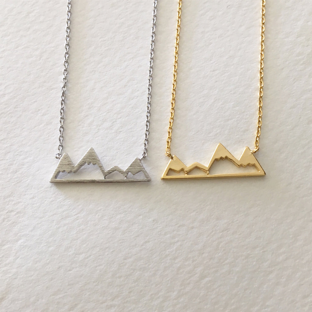 Awsome Mountain Necklace