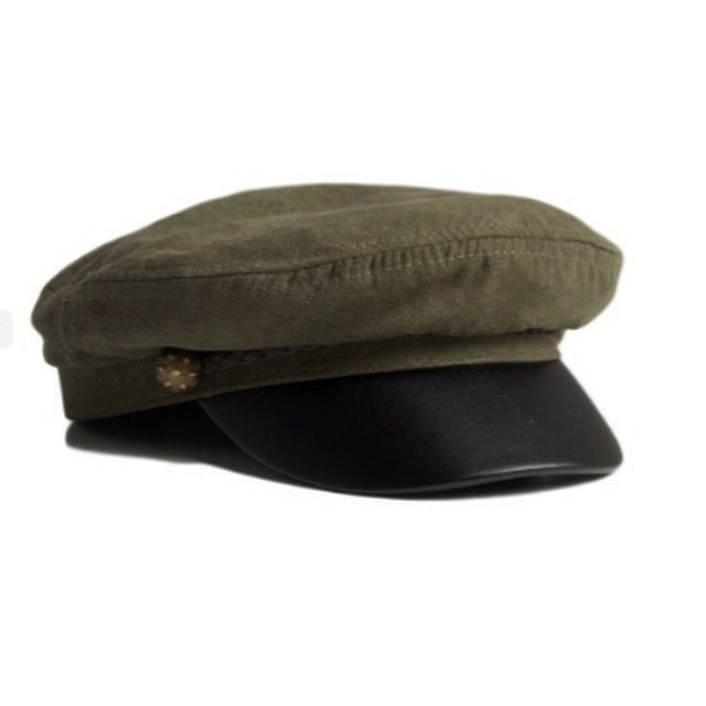 Adorable Laura Cap Olive