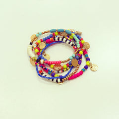 California Beaded Bracelet