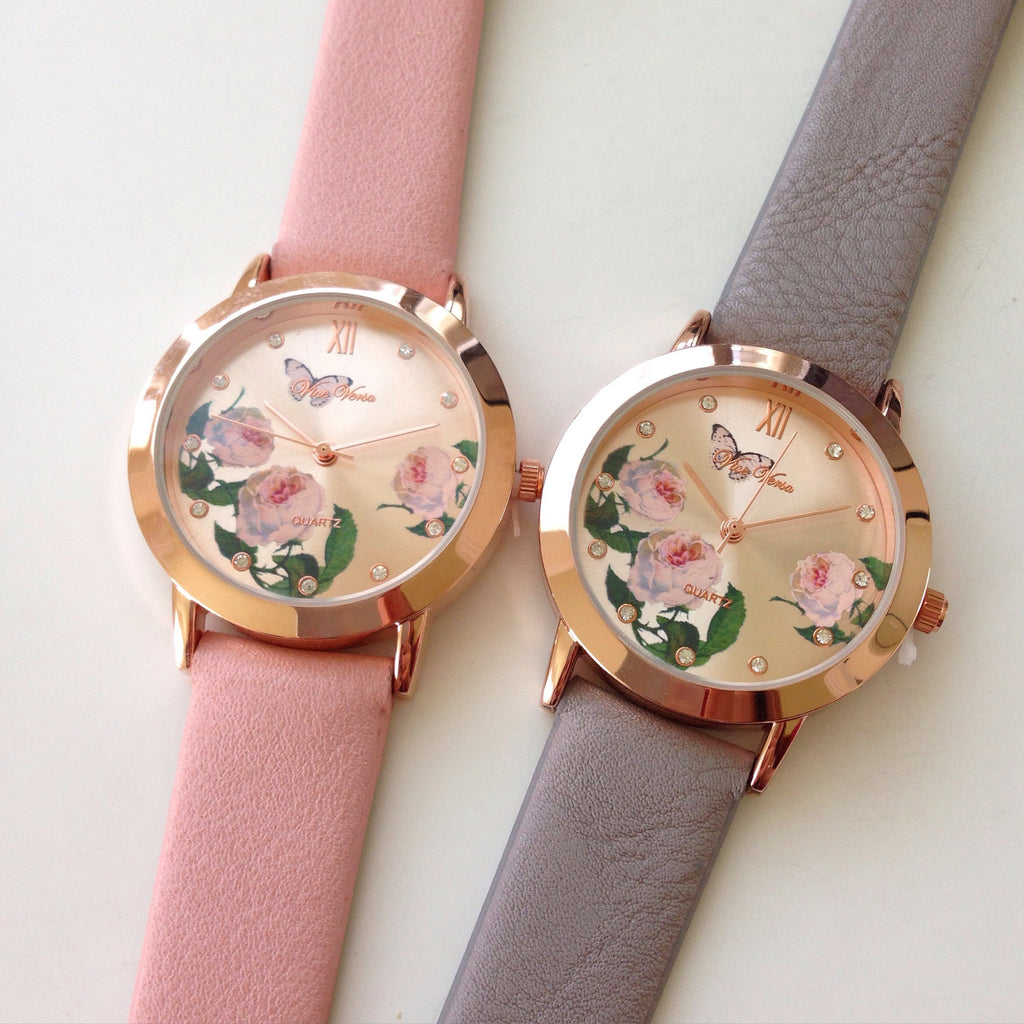 Flowers and Butterfly Watch