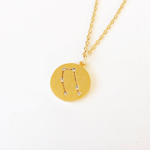 Gemini Rhinestone Necklace