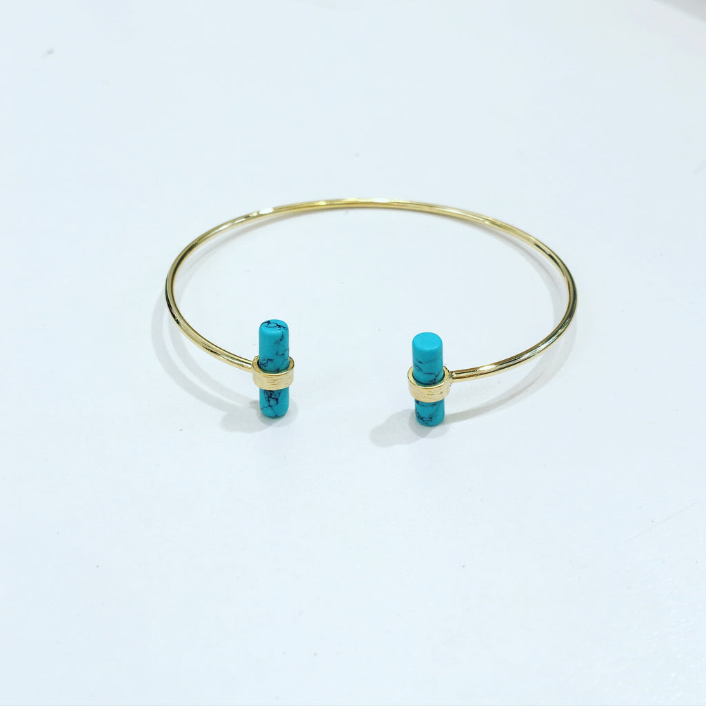 Turquoise T Bar Bangle