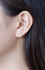Chain Threader Earrings