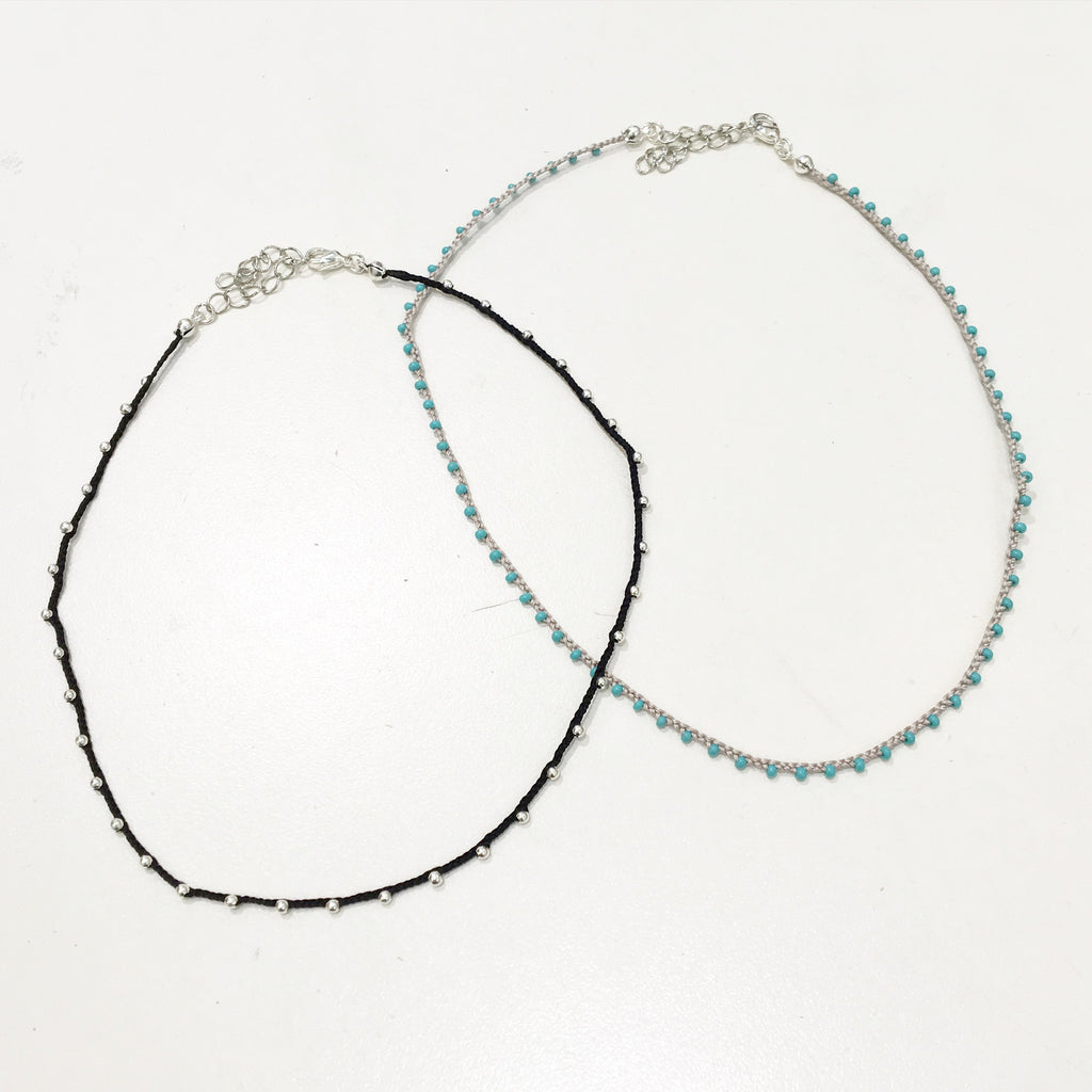 The Tiny Beaded Choker